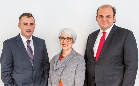 Left to right - Marcus Cree Risk Specialist GSS Enterprise Risk Misys Financial Software Kathryn Kerle Head of Enterprise Risk Reporting Risk Infrastructure RBS Richard Petti Chief Executive Officer Asset Control
