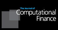 Download the Journal of Computational Finance iPad app