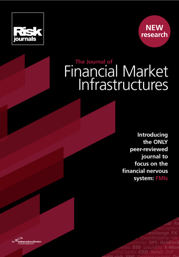 Journal of Financial Markets Infrastructures