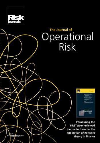 Journal of Operational Risk