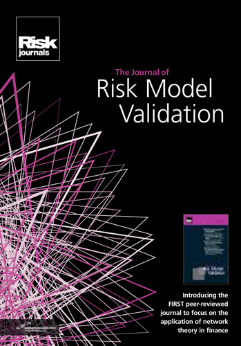Journal of Risk Model Validation