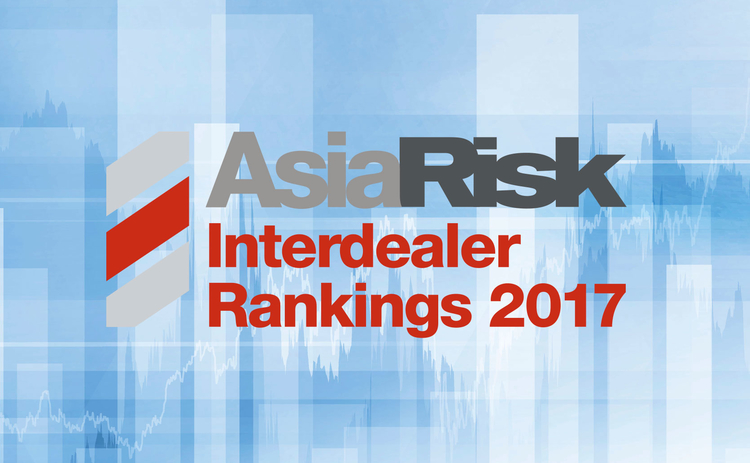 Image of Asia Risk interdealer rankings 2017