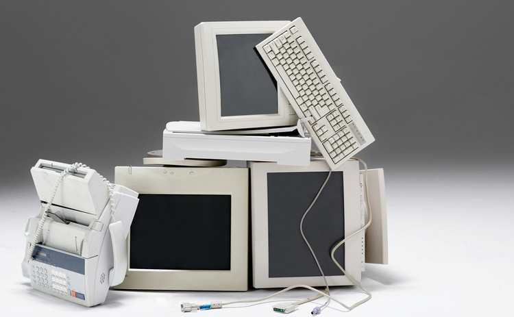 Photo of old computers
