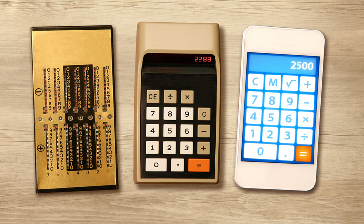 Image of calculators