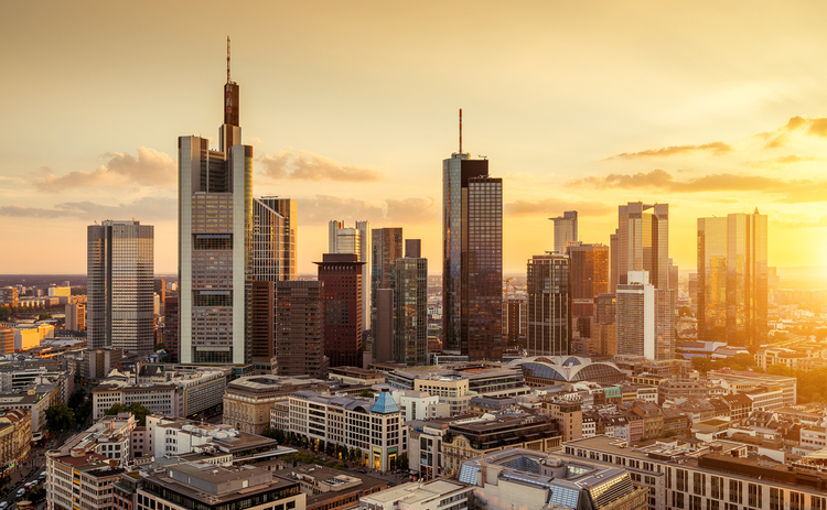 frankfurt-sunset