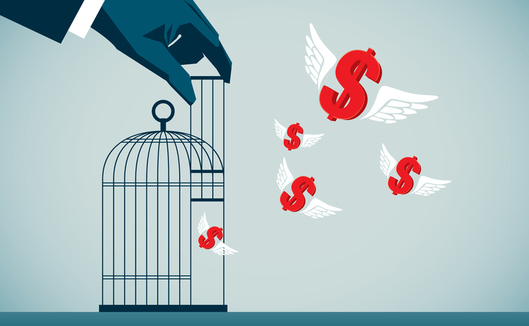 dollars escape cage - web - Getty.jpg
