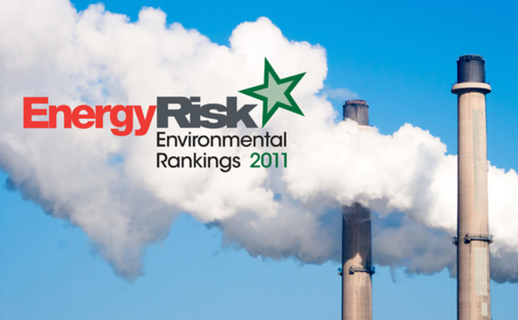 Energy Risk Environmental Rankings 2011
