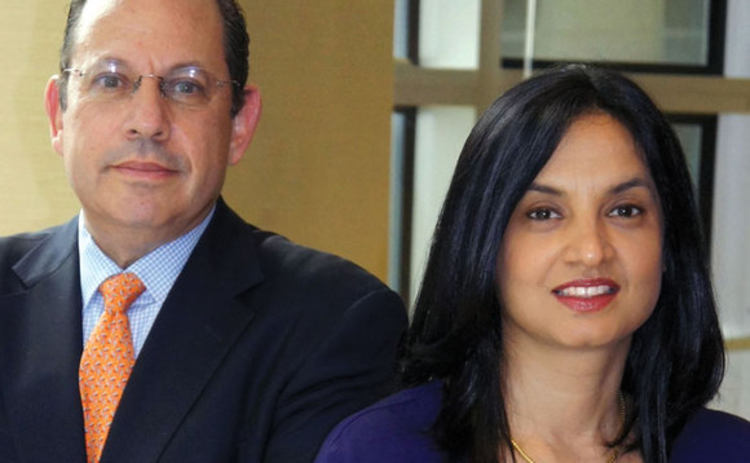 Richard Prager and Supurna VedBrat