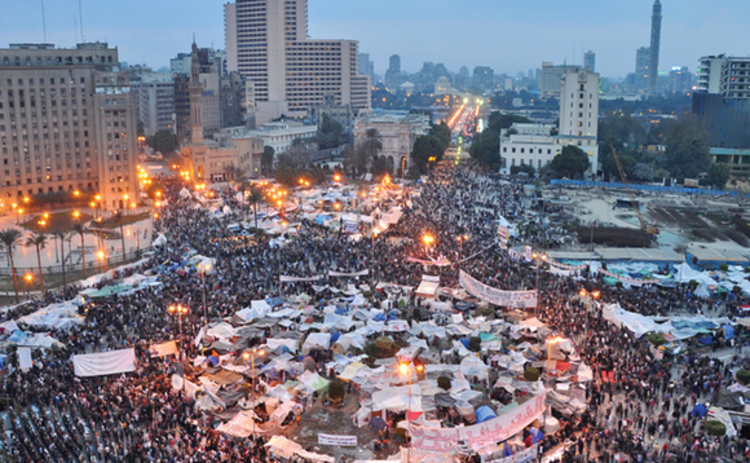 Cairo protests in 2011