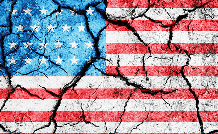 cracked-us-flag