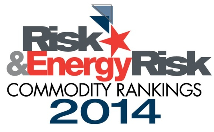 Risk & Energy Risk Commodity Rankings 2014 logo