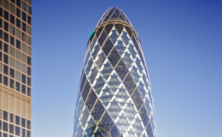 Swiss Re at 30 St Mary Axe