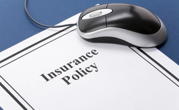Online insurance policy