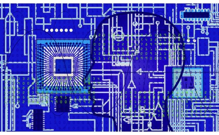 electronic-circuit-board-and-head