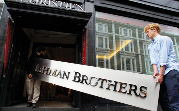 Lehman Brothers' collapse
