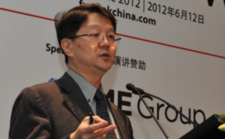 Clifford Tan speaks at FX China 2012