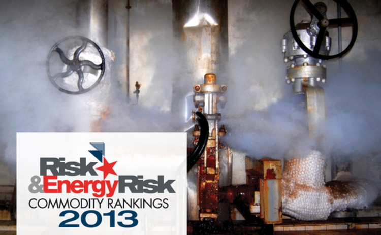 Risk and Energy Risk Commodity Rankings 2013
