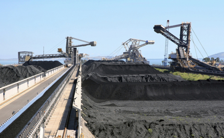 Coal terminal - Queensland Australia