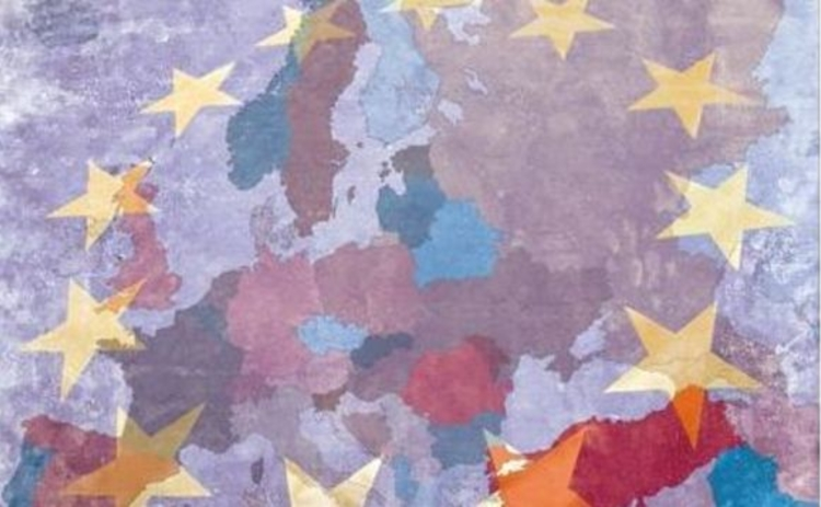 map-of-europe-and-eu-flag