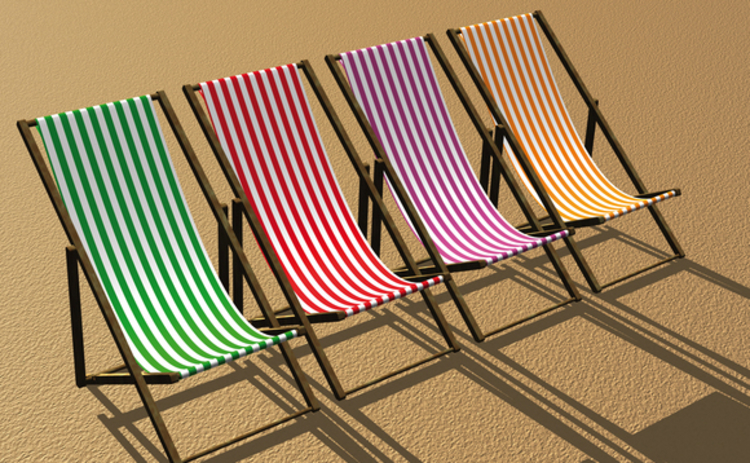 multi-coloured-deckchairs-in-a-row