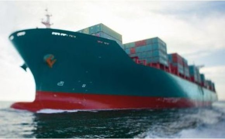 Cargo Ship with anti priate laser technology
