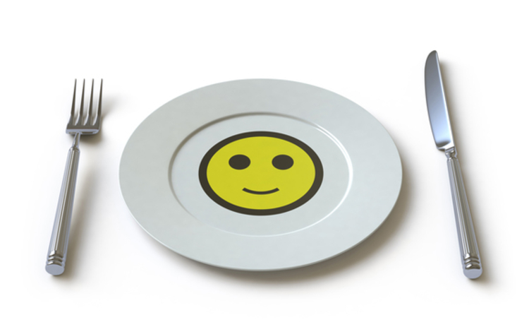 smiley-face-on-plate