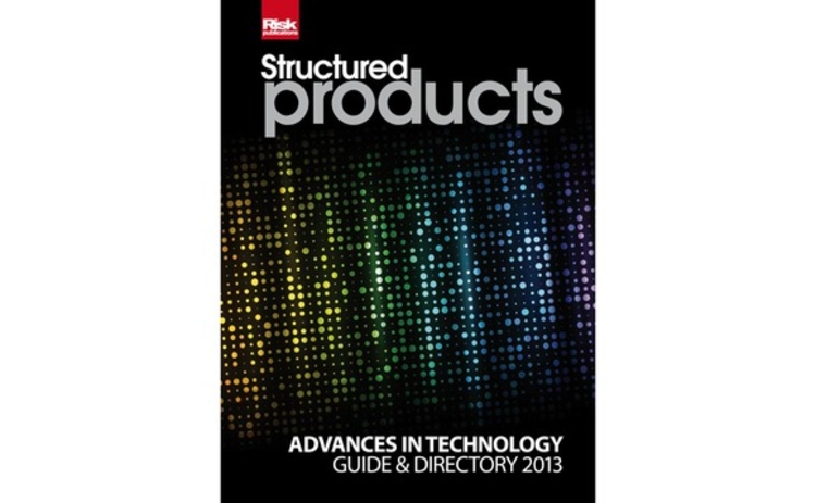Structured Products technology guide 2013 cover