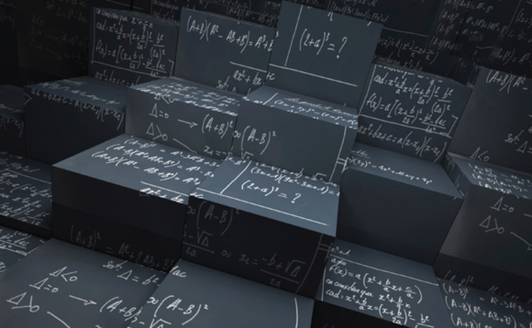 chalk-mathematical-equations-on-blackboard-cubes
