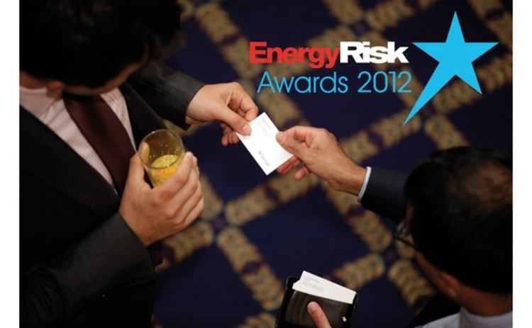 Energy Risk Awards 2012
