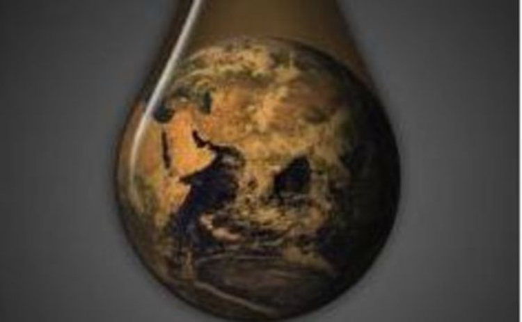 globe-in-oil-drop