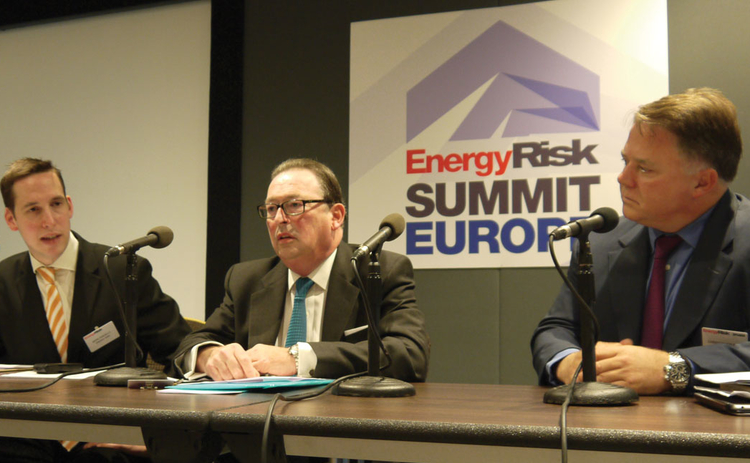 Mark Pengelly Paul Newman Christopher Bake - Energy Risk Summit Europe