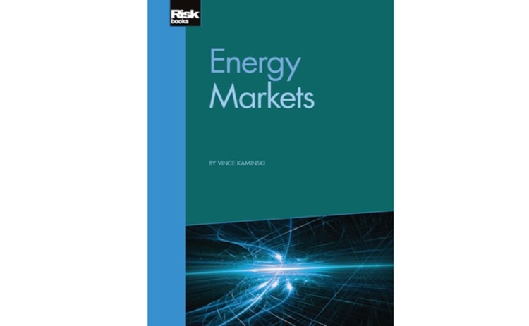 Energy Markets by Vince Kaminski - front cover