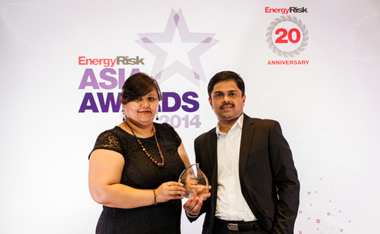 energy-risk-asia-award-aspect-chetna-bhatia-and-annamala arunachalem