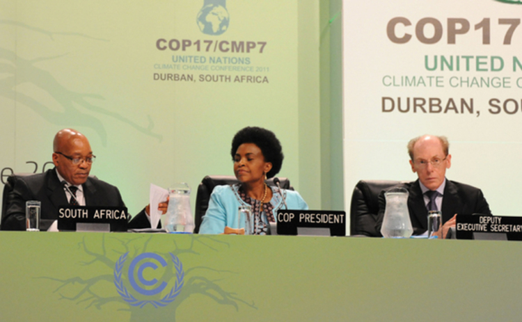 COP17 - Climate talks in Durban - December 6 2011