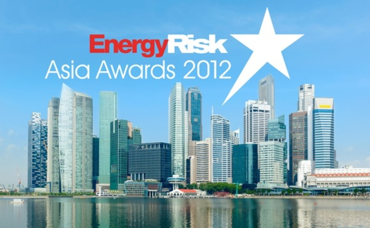Energy Risk - Asia Awards 2012