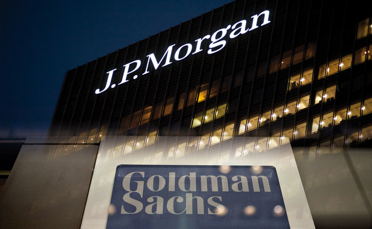JP Morgan and Goldman Sachs