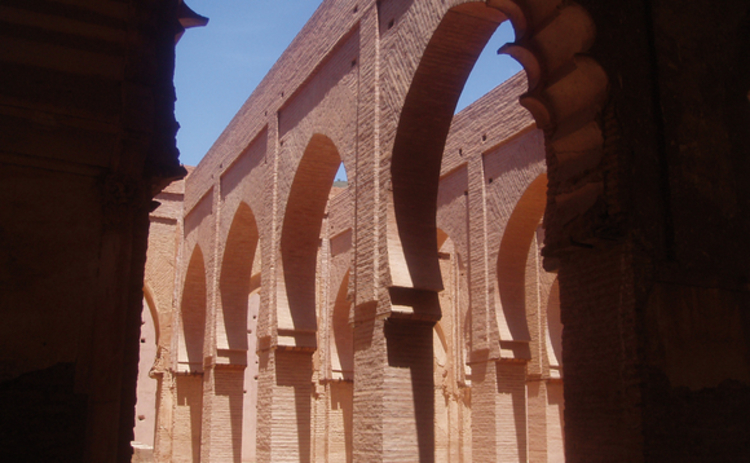 series-of-islamic-arches-stone-pale-red