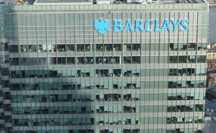 photo of barclays headquarters in london's canary wharf
