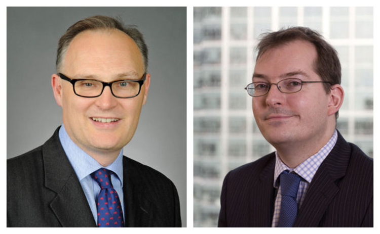 Left to right - Andrew Melville and Anthony Stevens Northern Trust