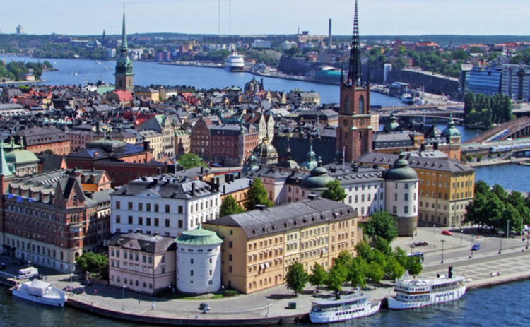 Riddarholmen district in Stockholm - photo Ildiko Lukacs-imagebank.sweden.se