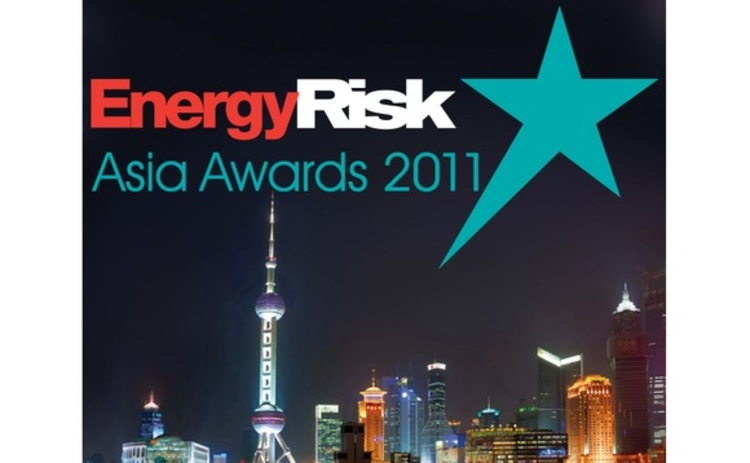 Energy Risk - Asia Awards 2011