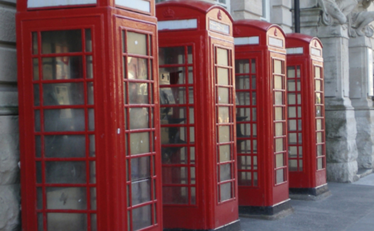 four-red-phone-boxes