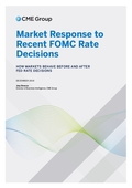 Market Response to Recent FOMC Rate Decisions - How Markets Behave Before & After Fed Rates Decisions
